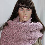 """Аксессуары ручной работы. Ярмарка Мастеров - ручная работа Шарф """"Ленни"""", большой шарф.. Handmade."""