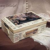 Для дома и интерьера handmade. Livemaster - original item The Box Is