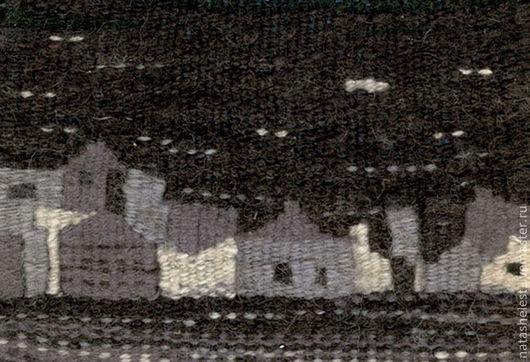 """Гобелен """"Деревня"""". Ручное ткачество. Наталья Шестакова - дизайнер, декоратор."""