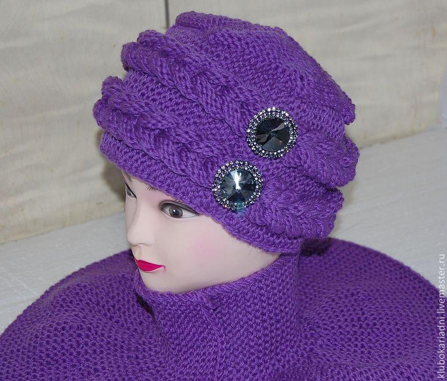 Азиатское вязание шапок