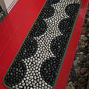 Для дома и интерьера ручной работы. Ярмарка Мастеров - ручная работа Массажный каменный  коврик  ручной работы. Handmade.