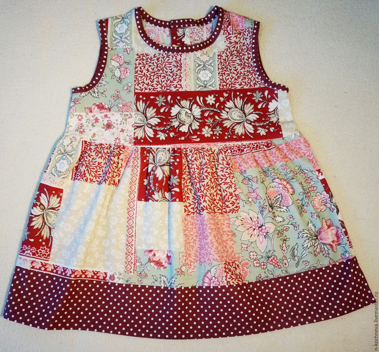 Простое платье из хлопка