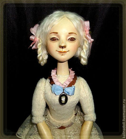 Коллекционные куклы ручной работы. Ярмарка Мастеров - ручная работа. Купить Агния игровая кукла. Handmade. Деревянная игрушка