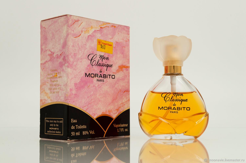 MON CLASSIQUE (MORABITO) eau de toilette (EDT) 50 ml VINTAGE, Vintage perfume, St. Petersburg,  Фото №1