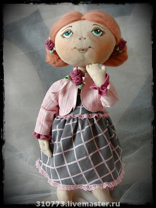 """коллекционная кукла ручной работы """"Мечтательница Сьюзи"""""""