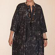 Одежда ручной работы. Ярмарка Мастеров - ручная работа Платье Oversize шерстяное свободное комфортное. Handmade.