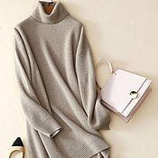 Одежда handmade. Livemaster - original item Cashmere sweater dress. Handmade.