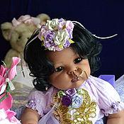 Куклы и игрушки ручной работы. Ярмарка Мастеров - ручная работа Индийская малышка 2. Handmade.
