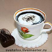 """Косметика ручной работы. Ярмарка Мастеров - ручная работа Эксклюзивное мыло """"Кофейная чашка"""". Handmade."""