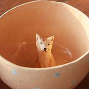 """Посуда ручной работы. Ярмарка Мастеров - ручная работа Кружка """"Год собаки"""". Handmade."""
