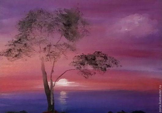 картина маслом морской пейзаж, картина маслом морской пейзаж в подарок, живопись маслом, картина морской пейзаж, картина в подарок, картина маслом на холсте, пейзаж морской