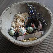 Для дома и интерьера ручной работы. Ярмарка Мастеров - ручная работа Чаша из бетона. Handmade.