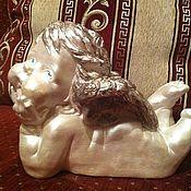 """Для дома и интерьера ручной работы. Ярмарка Мастеров - ручная работа Ангелочек """"щечки"""". Handmade."""