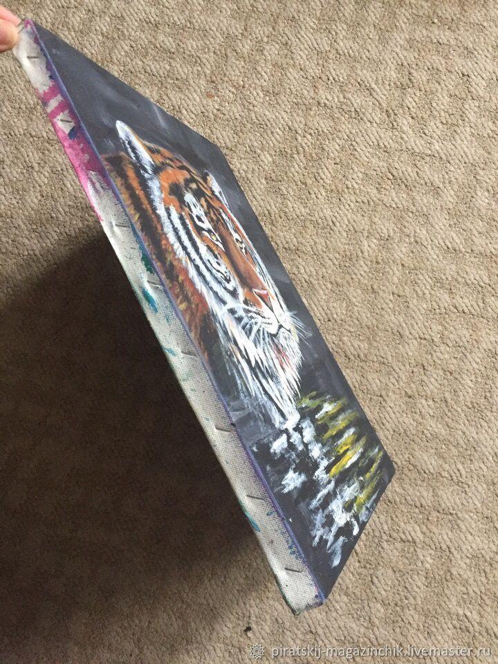Картина Тигр, тигр Холст Масло