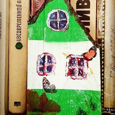 Для дома и интерьера ручной работы. Ярмарка Мастеров - ручная работа Домики: Домик деревянный. Лето.. Handmade.