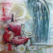 Картины и панно ручной работы. Ярмарка Мастеров - ручная работа Гранатовое вино. Handmade.