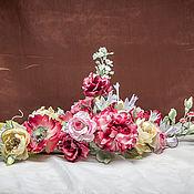 Цветы и флористика ручной работы. Ярмарка Мастеров - ручная работа Интерьерная композиция. Handmade.