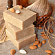 Мыло ручной работы. Ярмарка Мастеров - ручная работа. Купить Натуральное мыло скраб Пан-Марципан. Handmade. скраб