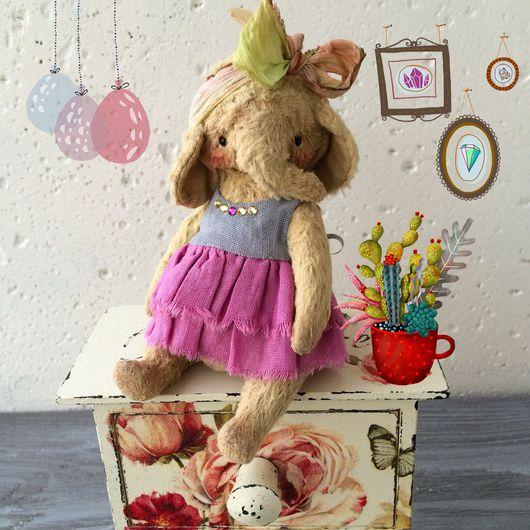 Мишки Тедди ручной работы. Ярмарка Мастеров - ручная работа. Купить Молли. Handmade. Слон, тедди слон, хлопок