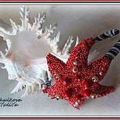 """Украшения ручной работы. Ярмарка Мастеров - ручная работа """"Starfish"""" Обруч. Handmade."""