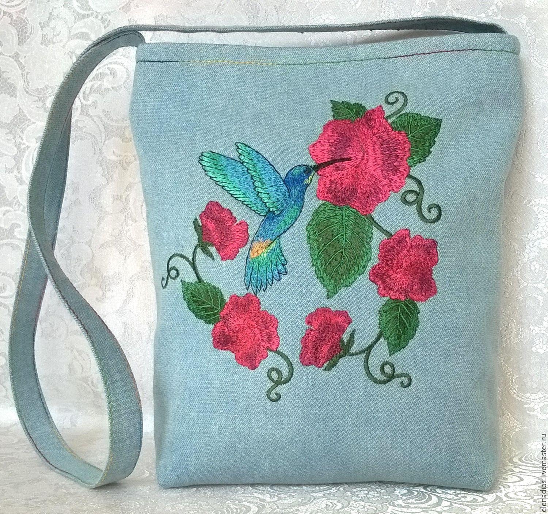 Сумки с вышивкой лентами Модные сумки 2018 26