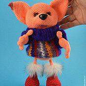 Куклы и игрушки ручной работы. Ярмарка Мастеров - ручная работа Лисонька Рыжуля. Handmade.