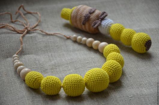 Слингобусы ручной работы. Ярмарка Мастеров - ручная работа. Купить Слингобусы (набор) Джентльмен в желтом. Handmade. Желтый, слингобусы