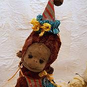Куклы и игрушки ручной работы. Ярмарка Мастеров - ручная работа Лиза...обезьянка. Handmade.