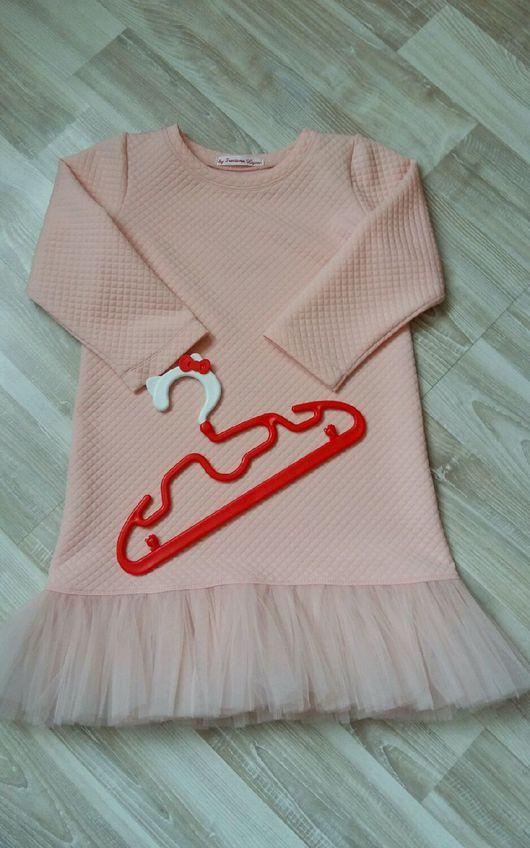 Одежда для девочек, ручной работы. Ярмарка Мастеров - ручная работа. Купить Детское платье Зефирка. Handmade. Платье, Розовое платье