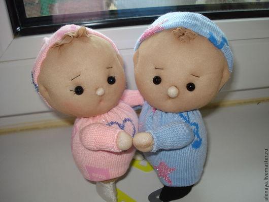 Человечки ручной работы. Ярмарка Мастеров - ручная работа. Купить кукла пупс. Танго на льду. Handmade. Пупс, танцы, малыши