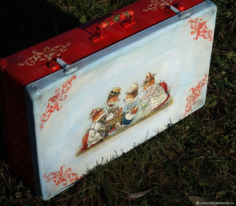 """Большой чемодан  """"Осенняя сказка"""""""