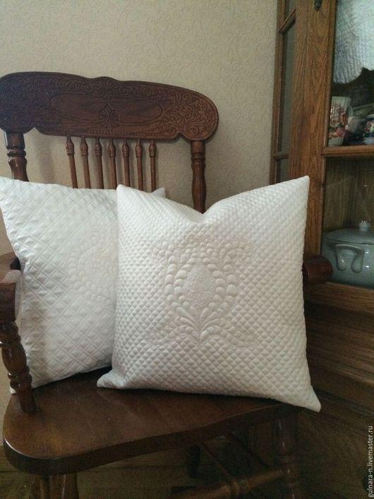 """Текстиль, ковры ручной работы. Ярмарка Мастеров - ручная работа. Купить """"Вдохновение"""" комплект подушек. Цена за наволочки.. Handmade."""