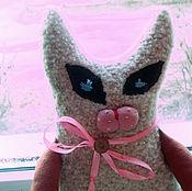 Куклы и игрушки ручной работы. Ярмарка Мастеров - ручная работа кот гламурный...почти сиамский.... Handmade.