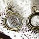 Для украшений ручной работы. Ярмарка Мастеров - ручная работа. Купить Оправа-коннектор Часы 20мм, античная бронза (1шт). Handmade.