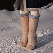 Обувь ручной работы. Ярмарка Мастеров - ручная работа Валенки ручной валки. Handmade.