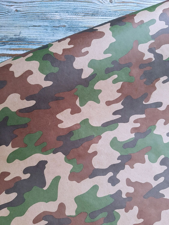 Крафт бумага на 23 февраля, лист 50х70 см, Бумага, Москва,  Фото №1