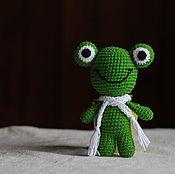 Куклы и игрушки handmade. Livemaster - original item frog. Handmade.