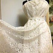 Свадебное платье старинное новое ГДР!