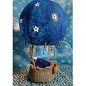 """Потолочные и подвесные светильники ручной работы. Ярмарка Мастеров - ручная работа Настольный светильник-воздушный шар """"Сладкие сны"""". Handmade."""