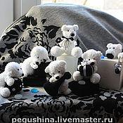 Куклы и игрушки ручной работы. Ярмарка Мастеров - ручная работа Белые Медвежата. Handmade.