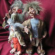 """Куклы и игрушки ручной работы. Ярмарка Мастеров - ручная работа """"Папа,мама,я....."""". Handmade."""
