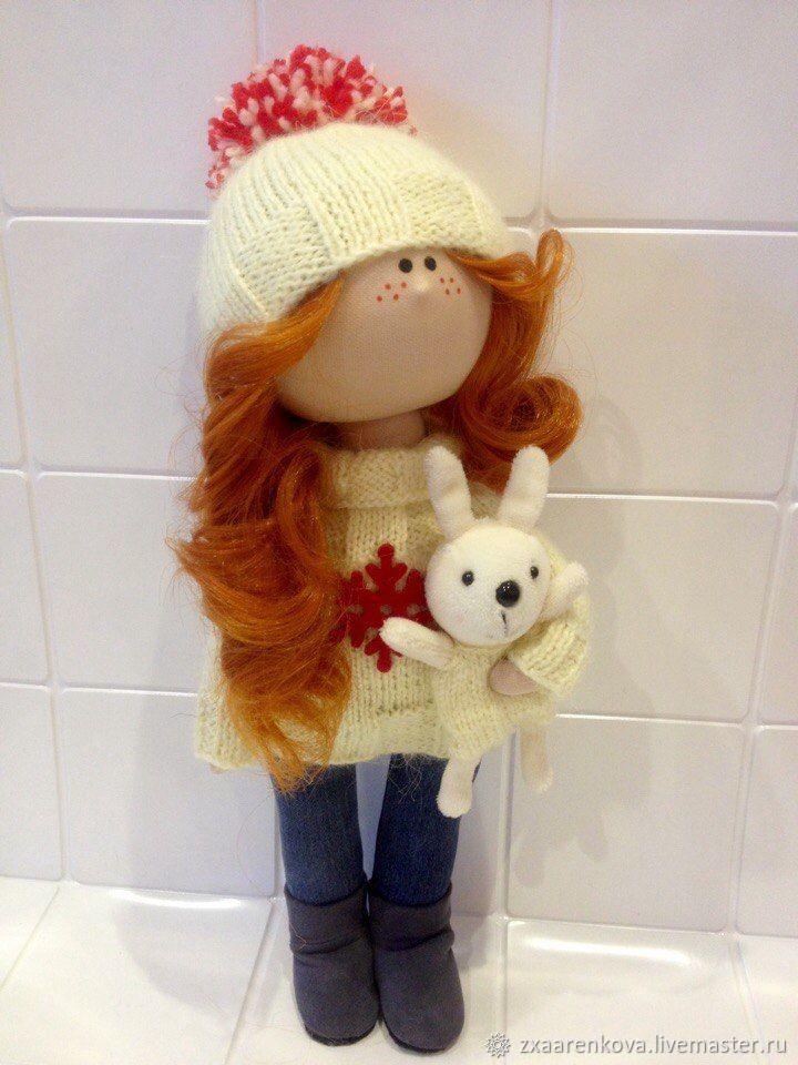 интерьерная текстильная кукла, Тыквоголовка, Вельск, Фото №1