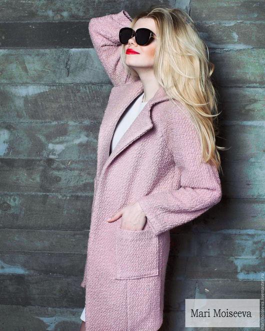 """Верхняя одежда ручной работы. Ярмарка Мастеров - ручная работа. Купить Пальто """"Fondness"""". Handmade. Кремовый, пальто модное"""