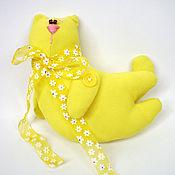Куклы и игрушки ручной работы. Ярмарка Мастеров - ручная работа Тильда Летающий Солнечный кот. Handmade.