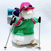 handmade. Livemaster - original item The little hiker mouse. Handmade.