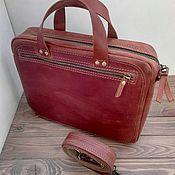 Сумки и аксессуары handmade. Livemaster - original item Casual bag, for documents, with a zipper.. Handmade.
