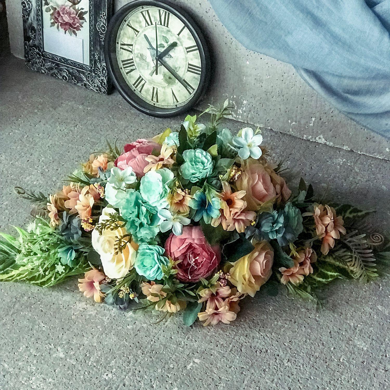 Интерьерные цветы,интерьерный букет,интерьерная брошь, на камин,стол, Композиции, Москва,  Фото №1