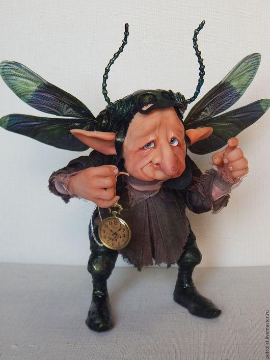 Коллекционные куклы ручной работы. Ярмарка Мастеров - ручная работа. Купить Флаймур Берг-эльфогном. Handmade. Комбинированный, необычный подарок