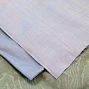 Материалы для творчества ручной работы. Ярмарка Мастеров - ручная работа Ткань хлопок саржа голубая. Handmade.