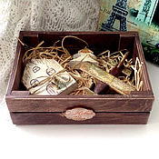 Для дома и интерьера handmade. Livemaster - original item A box of Christmas decorations